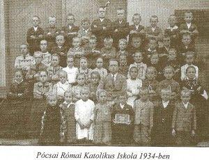 Iskola 1934 Pócsa