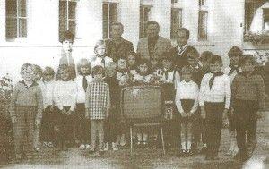 A pócsai iskola az 1970-es években