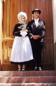 A menyasszony öltözéke