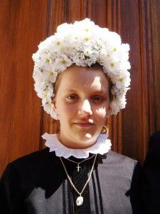 A menyasszony fejdísze