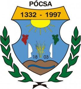 Pócsa címere