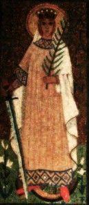 Alexandriai Szent Katalin, Pócsa község védőszentje