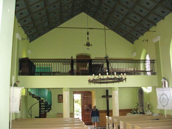 Római katolikus templom belső